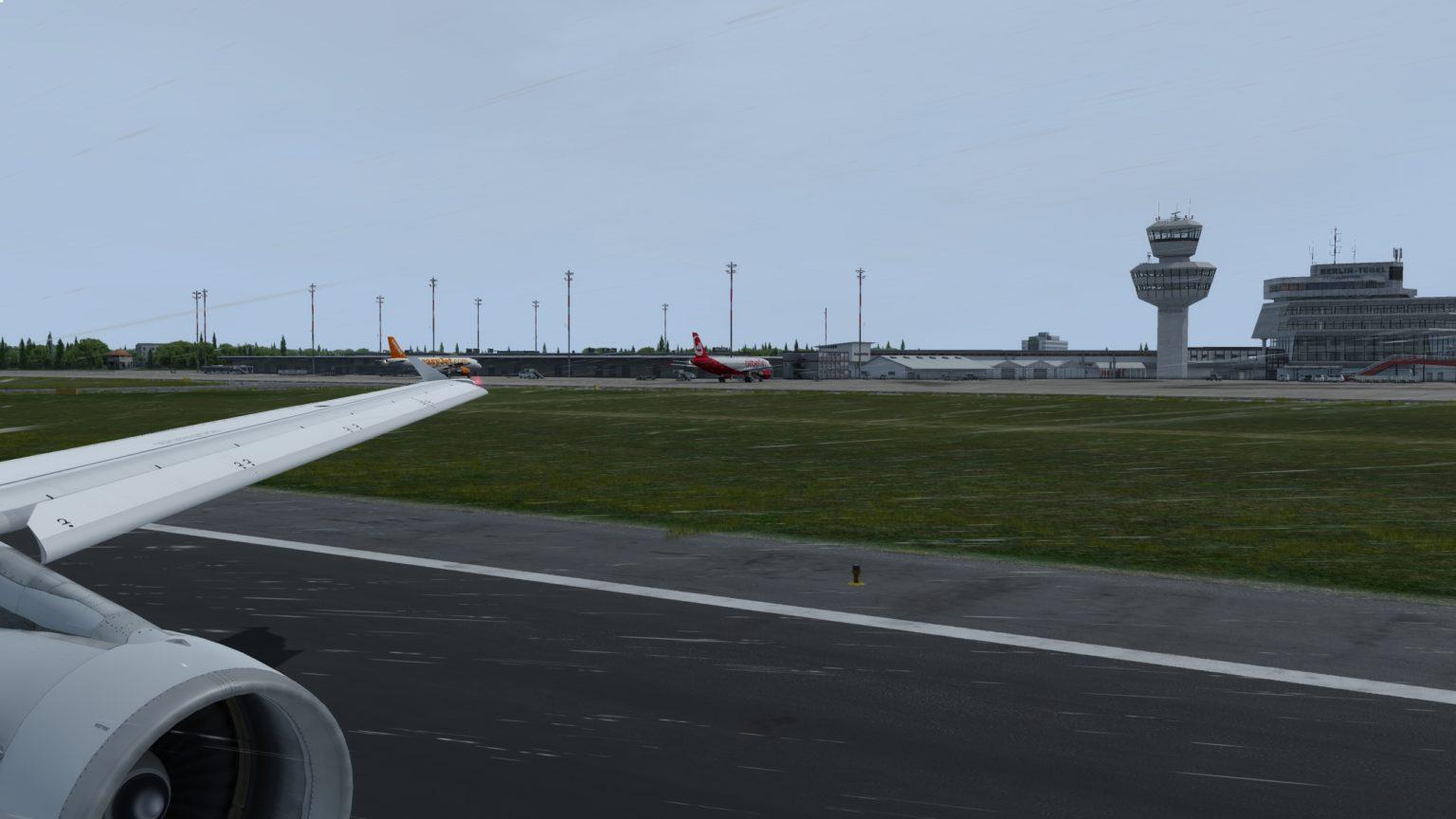 Takeoff-Run | Aufkommen noch überschaubar