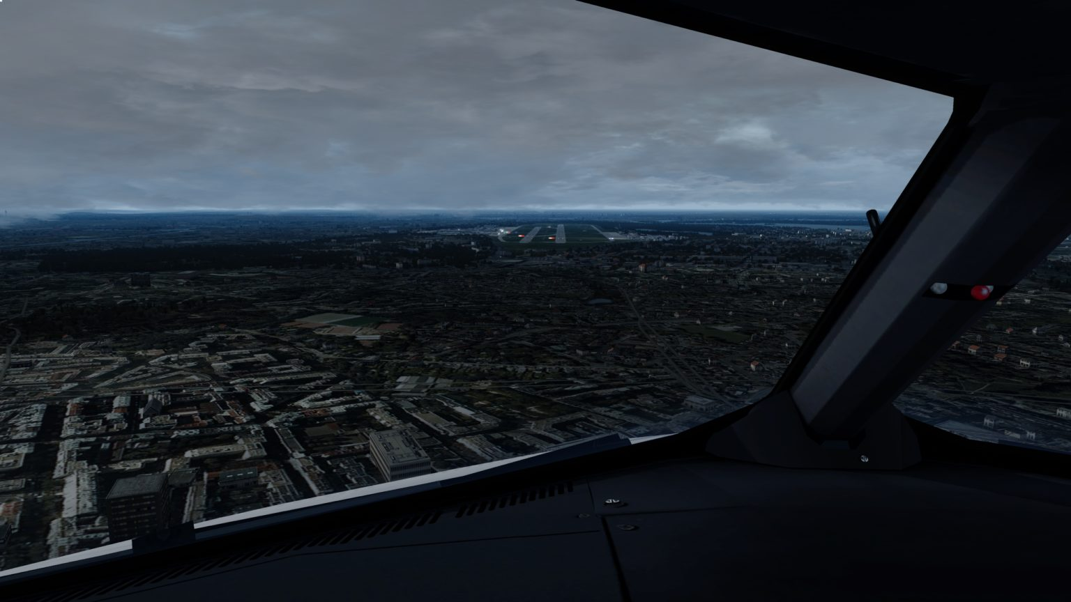 Anflug TXL 26R