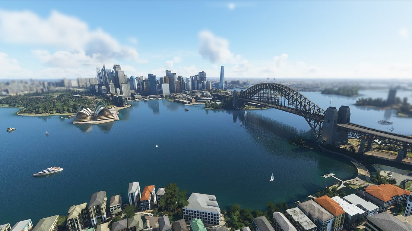 Orbx Ctyscape Sydney for MSFS - 01 hero image raw