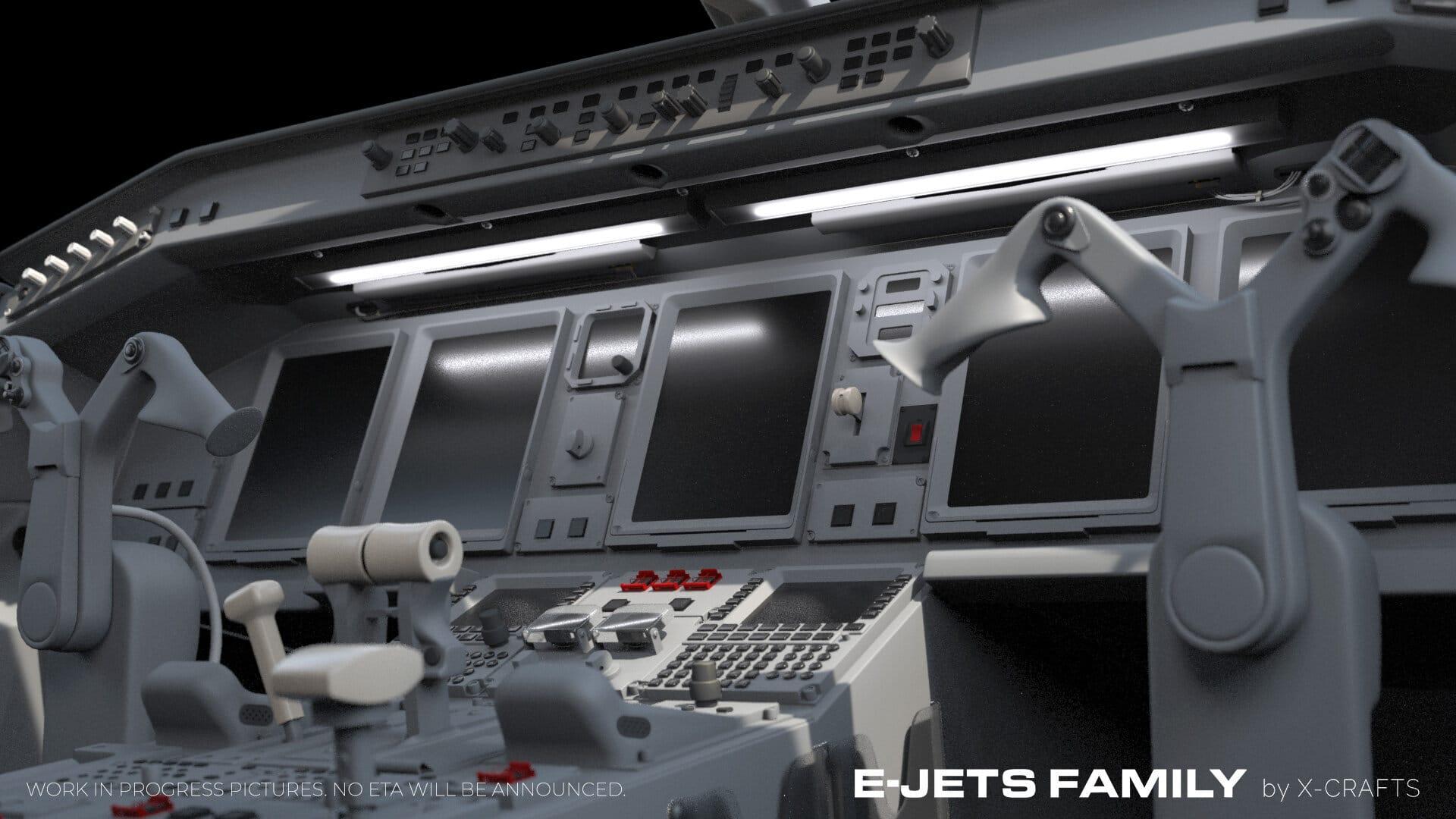 E-JETS FAMILY X-CRAFTS COCKPIT MODEL